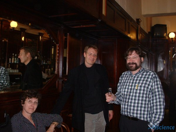 Ulf-Dietrich Reips with Michael Birnbaum and Leigh Hobson