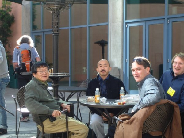 with Ken Nakayama (Harvard), Shinsuke Shimojo (CalTech), Jeffrey B. Mulligan (NASA)